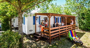 Location mobil-home camping luxe