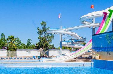 Camping de luxe avec piscine