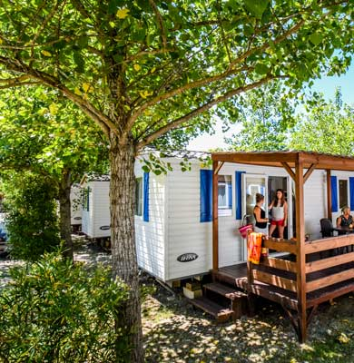 Camping luxe mobil-home 5 étoiles