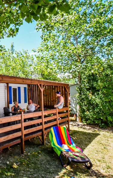 Location mobil-home luxe camping 5 etoiles
