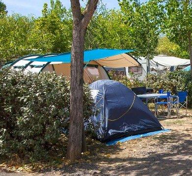 camping avec sanitaire privé